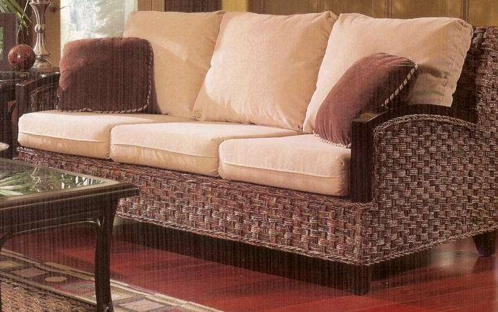 Rattan Sleeper Sofa Kensington