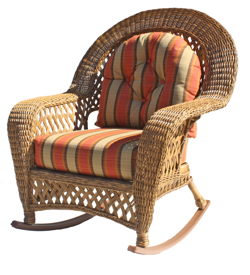Outdoor Wicker Rocker Montauk Collection