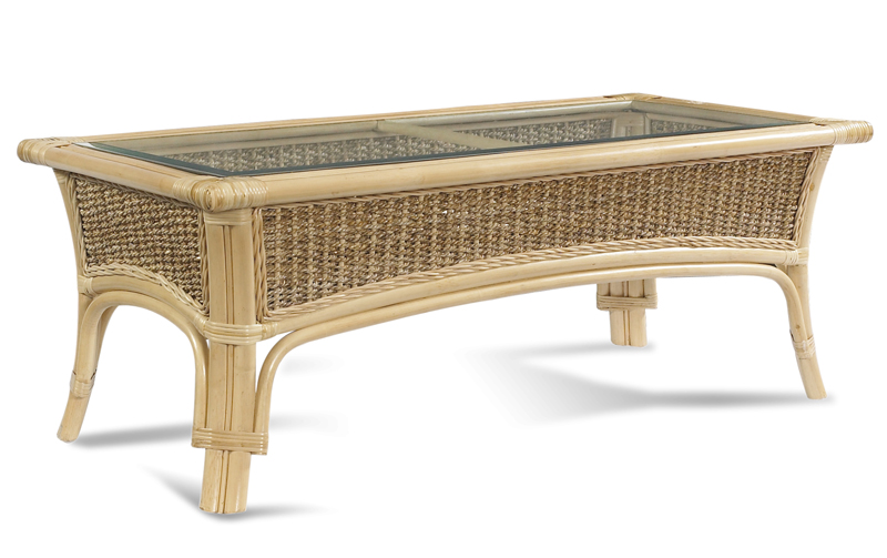 - Rattan Table: Tropical Breeze Coffee Table