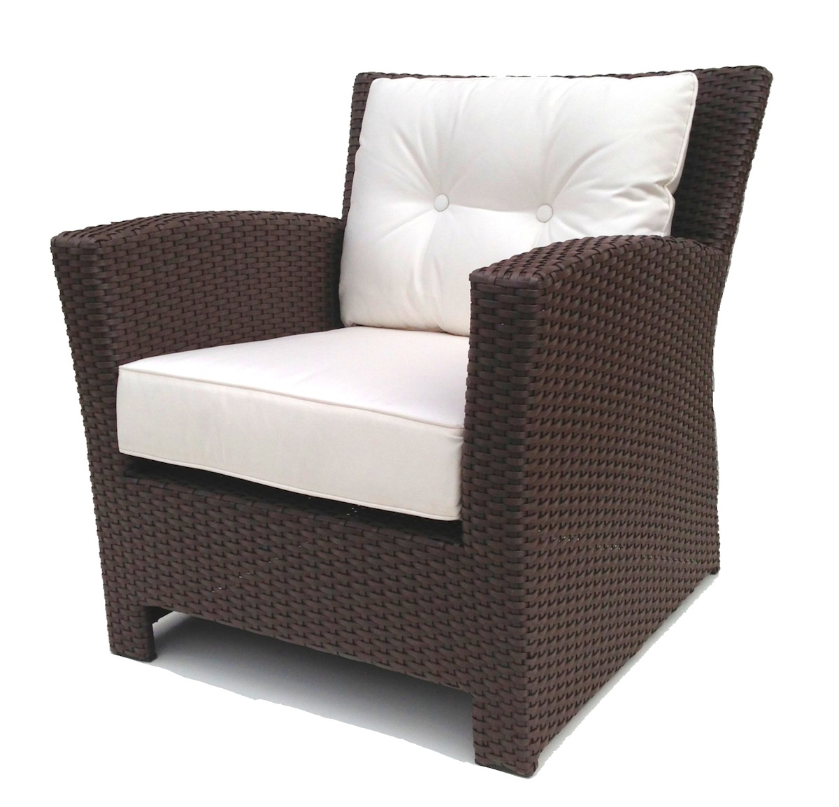 Cheap Wicker Chair: Outdoor Wicker Club Chair