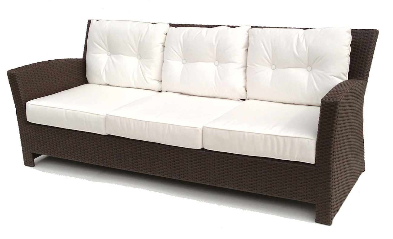 Outdoor Wicker Sofa Sonoma