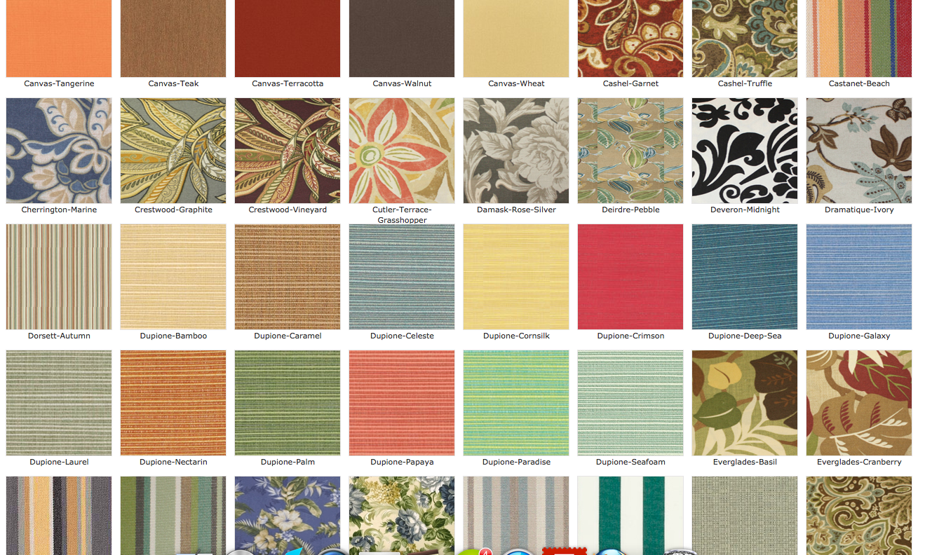 Wonderful Fabrics | Wicker Paradise