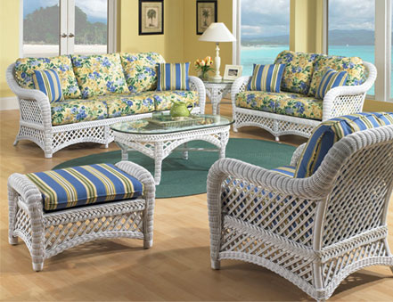 shop sunroom furniture specials white wicker lanai collection for n