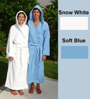 Terry Hooded Spa Robe 16 oz 100% Cotton S-XX