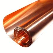 "12"" x 10'/3 mil (.003"") Copper Sheet"