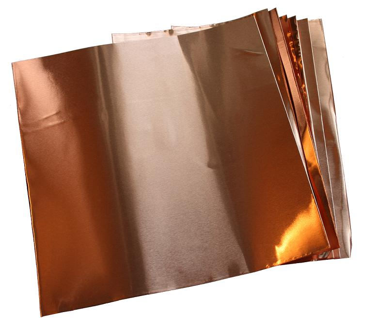 Copper Sheets 1 4 Mil 0014 Inches Thick