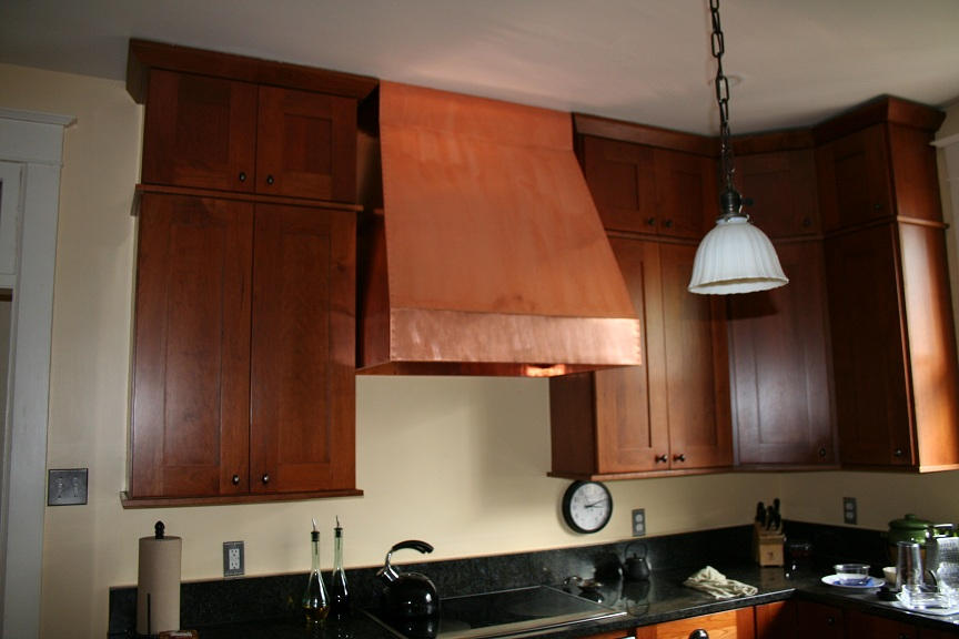 Copper Range Hood Do It Yourself 16 Mil Copper Sheeting