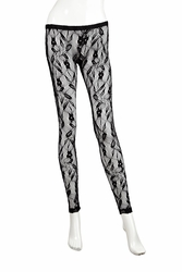 Nightcap Vine lace legging  (CP300) FINAL SALE