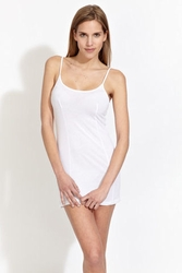 Nightcap Basic slip in white FINAL SALE