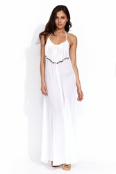 Mara Hoffman Fringe Maxi dress FINAL SALE
