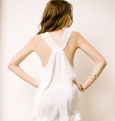 Miss Ferriday Lace Tunic tank  FINAL SALE