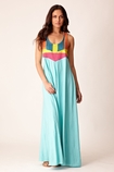 Mara Hoffman Corded Maxi Dress in mint FINAL SALE