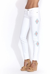 AG Adriano Goldschmied The Stilt jeans white Santa Fe