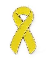 Sarcoma / Bone Cancer Awareness Ribbon Pin