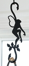 Wrought Iron Plant Hanger-Decorative S-Hook - Garden Fairy