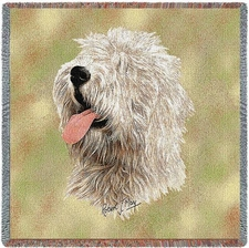 Old Eng Sheepdog II, Dog Breed Blanket, Lap Throw, Afghan