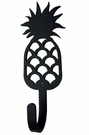 Small Decorative Wrought Iron Wall Hook - Pineapple