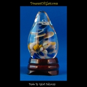 """Emerging Life"" Glass Egg"