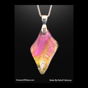 """Persian Sunset""  Replica Gemstone Pendant"