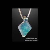 """Cool Blue""  HandMade Glass Jewelry"