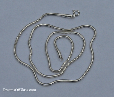 2.0mm Sterling silver snake chain