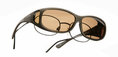 Cocoons  Sunglasses<br>Medium Small<br>Soft Touch Sand Frame<br>Polarized Amber Lenses