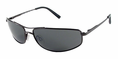 Reptile Niger Polarized Sunglasses<br>Dark Gunmetal<br>Titanium Ice Lens