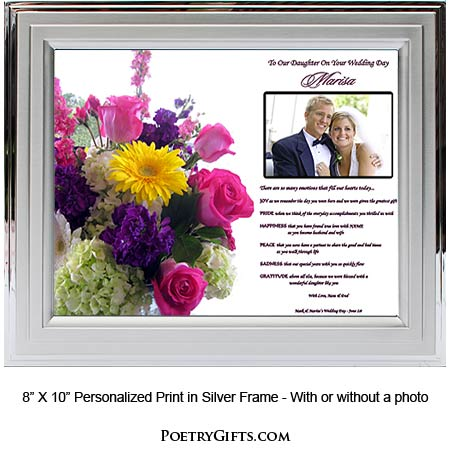 Wedding Gift Father Daughter : daughter wedding gifts from mom dad item 02 717 187 give your daughter ...