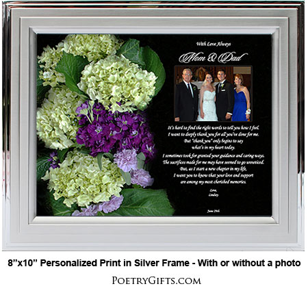 Special Wedding Gifts From Parents : Personalized Gifts
