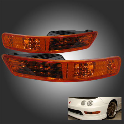 94-97 Acura Integra LS/GS/RS/GSR JDM Signal Bumper Light - Amber