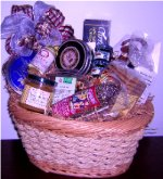 Cheese and Gourmet Gift Basket