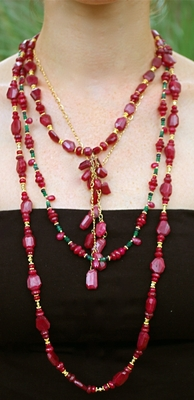Rubies, Emeralds and Sapphires