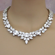 BEAUTIFY CZ CUBIC ZIRCONIA NECKLACE SET