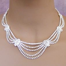 ILLUMINATE RHINESTONE NECKLACE SET
