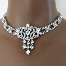 CARELEE VINTAGE CLEAR <br>RHINESTONE SET