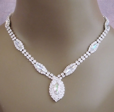 ROMANCE CRYSTAL AB-REFLECTIVE JEWELRY SET