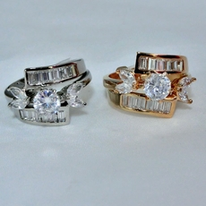 DREAM CZ RING<br>Silver-size 6, 7 and 8<br>Gold-size 6, 7 and 8