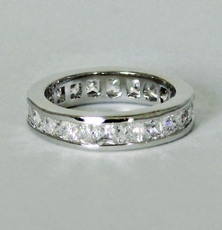 SLEEK CZ RING<br>size 6, size 7
