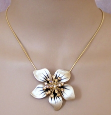 FLOWER FIX TOPAZ NECKLACE - LIMITED SUPPLY