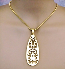 INFLUENCE GOLD NECKLACE SET