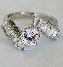 CRAVE CZ RING<br> size 7