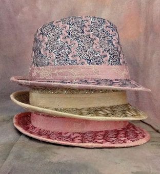 GLITTERY FEDORA HAT - TEMP SOLD OUT