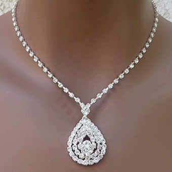 NEW LEGEND RHINESTONE JEWELRY SET