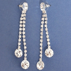 LONG FOR YOU RHINESTONE EARRINGS