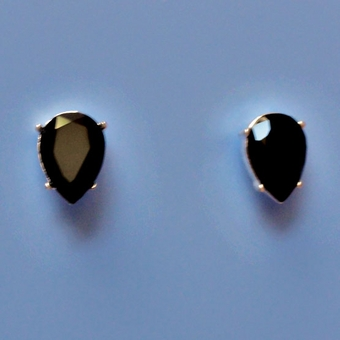 BLACK DOT EARRINGS* - 3 pair remaining