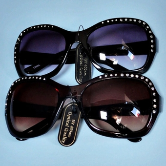 KELLY RHINESTONE SUNGLASSES