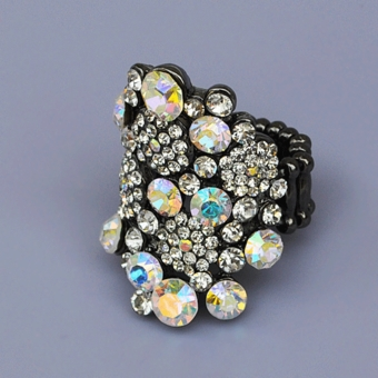RAZMATAZ RHINESTONE RING - TEMP SOLD OUT
