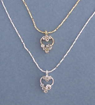 HEIDIS HEART GOLD 3PC SET - ONE REMAINING GOLD SET