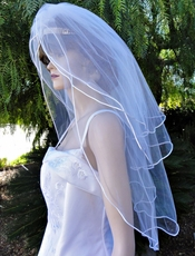 KISS-ME-QUICK VEIL - Triple Layer - SOLD OUT