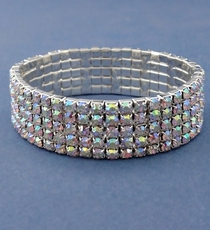 HIGH FIVE CRYSTAL BRACELET